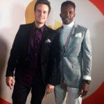Brandon Ludwig Academy Social and Emmanuel Kabongo