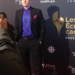 Brandon Ludwig Canadian Screen Awards Nomination Reception close up
