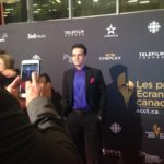 Brandon Ludwig Canadian Screen Awards Nomination Reception