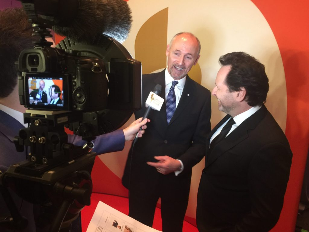 Brandon Ludwig, Colm Feore, Barry Avrich Screen Awards