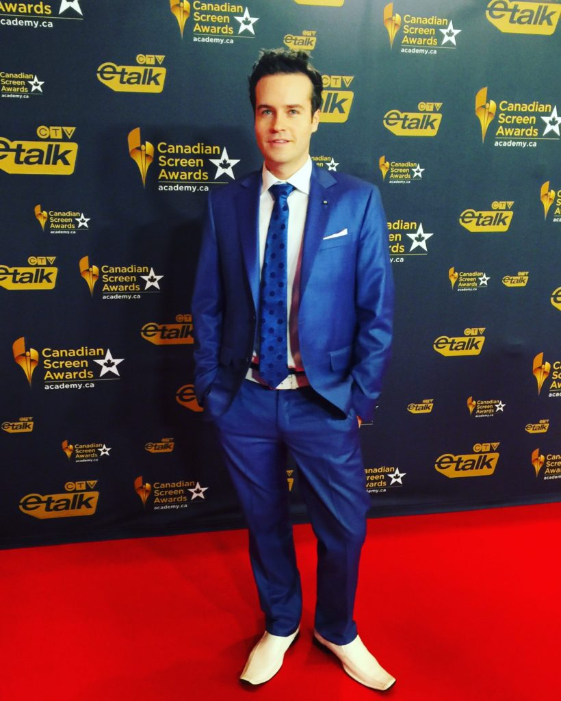 Brandon Ludwig Gala 2 Screen Awards