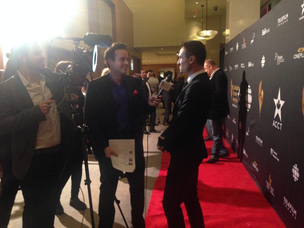 Brandon Ludwig and Paul Amos screen awards