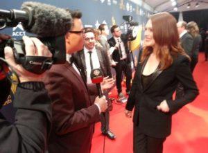 Red Carpet Brandon Ludwig, Julianne Moore
